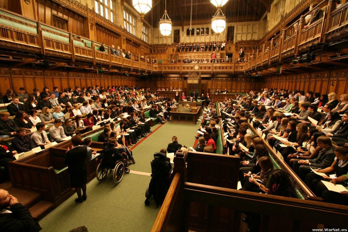 parliament of united kingdom The parliament of the united kingdom examines and challenges the work of the government debates and passes laws, and enables the government to raise taxes the business of parliament takes place in two houses: the house of commons and the house of lords.