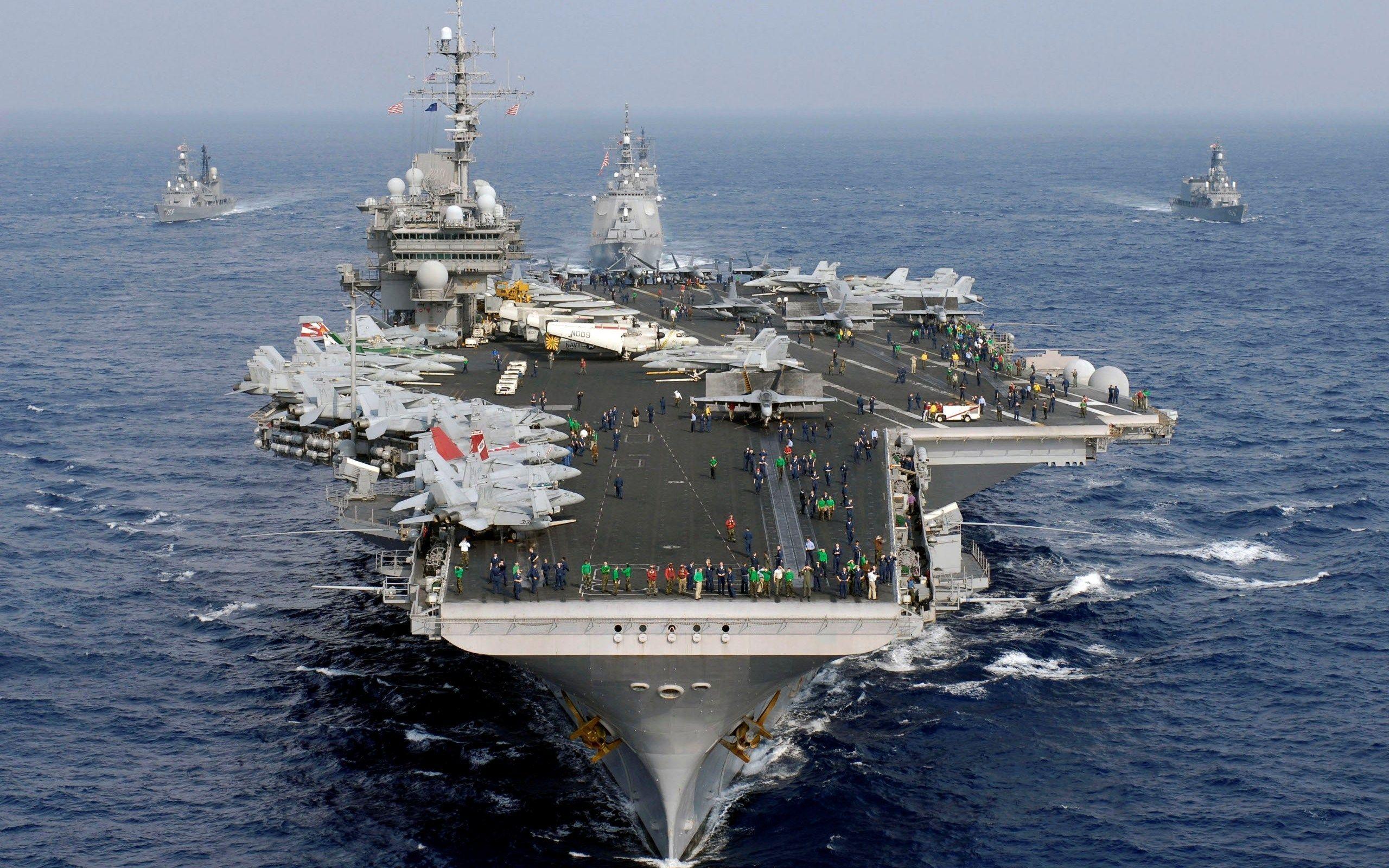indias second aircraft carrier - HD2560×1600