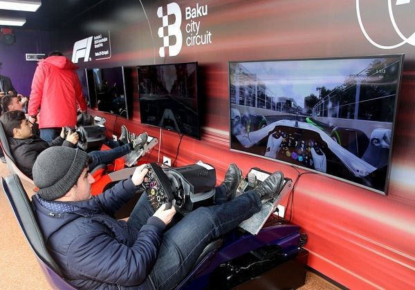 Lənkəranda Formula-1 həyacanı – FOTO