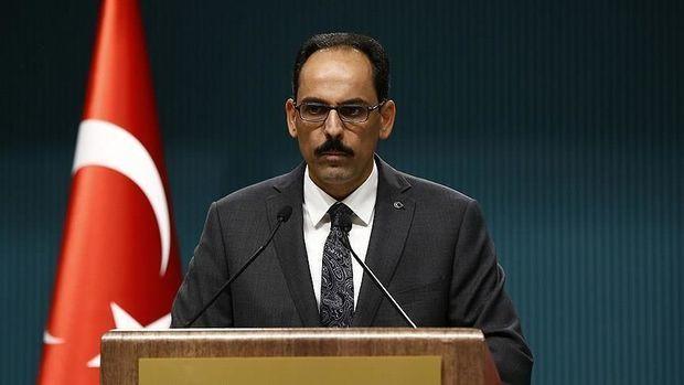 İbrahim Kalın: Türkiyə Suriyada əməliyyatı dayandırmayacaq