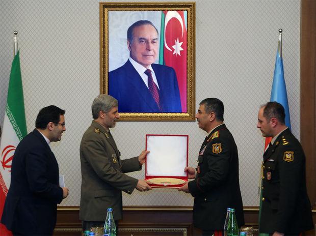 Azərbaycan və İran hərbi əməkdaşlığı genişləndirir – FOTO
