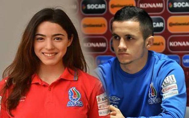 Azərbaycanda bir ilk: Futbolçular bir-birləri ilə evləndilər