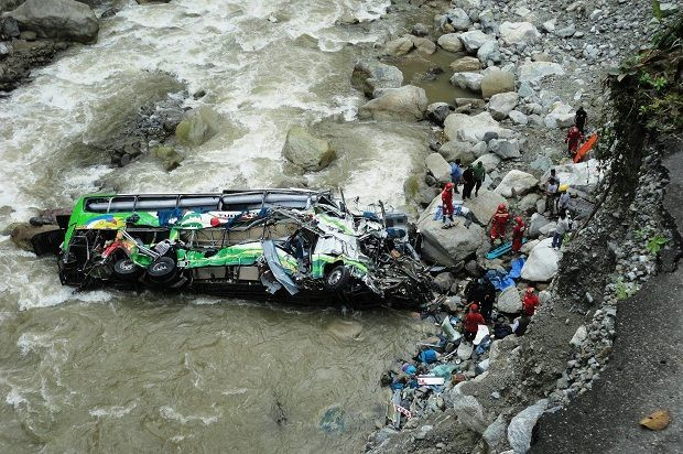 Hindistanda avtobus körpüdən aşıb: 14 nəfər həlak olub