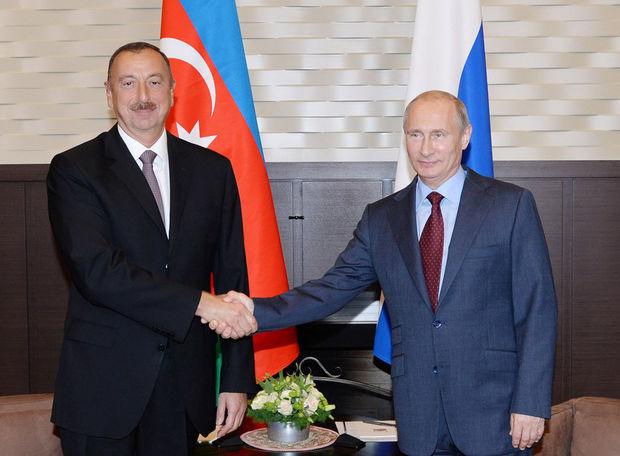 İlham Əliyev Vladimir Putinə zəng edib