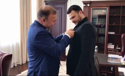Emin Ağalarov fəxri ad aldı