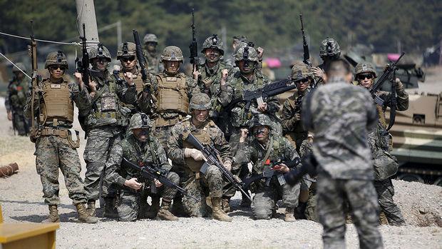 ABŞ Cənubi Koreya ilə təlimləri dayandırdı