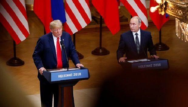 Tramp Putinlə görüşdən sonra  tənqid dalğası ilə üzləşdi