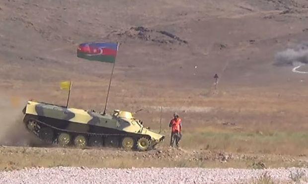Azərbaycan artilleriyaçıları məharətlərini göstərdi - FOTO/VİDEO