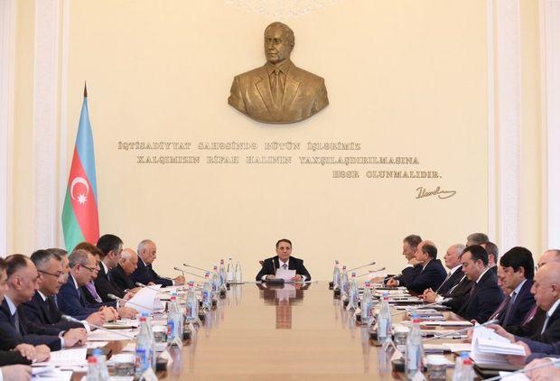 Novruz Məmmədov nazirlərə göstərişlər verdi - FOTO