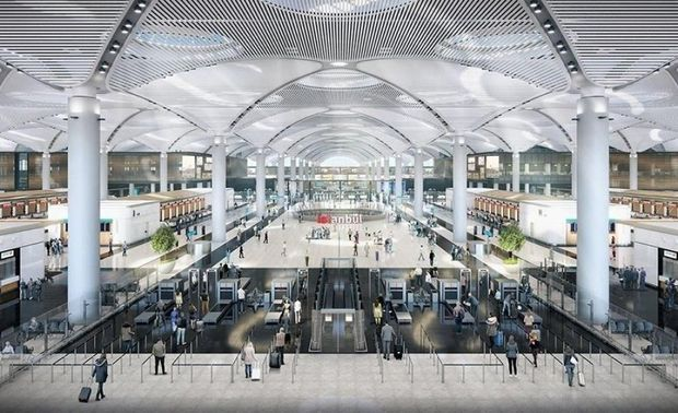 İstanbulda dünyanın ən böyük hava limanı açıldı