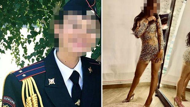 Rusiyada polislər həmkarlarını zorladılar