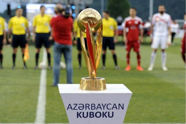 Futbol üzrə Azərbaycan kubokunun püşkü atıldı