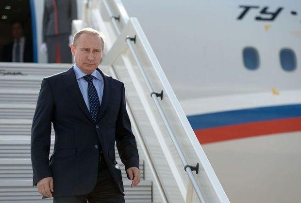 Putin Türkiyəyə gedib