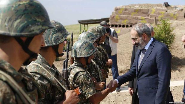 """Paşinyan etiraf etdi ki, erməni ordusundakı """"yeməklər dəhşətdir"""""""