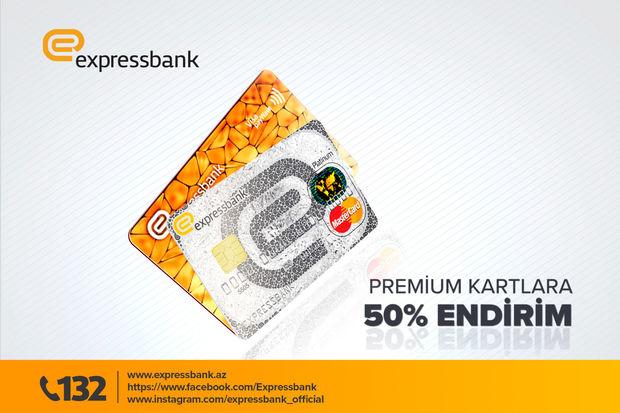 """""""Expressbank""""dan 50 faiz Black Friday endirimi"""