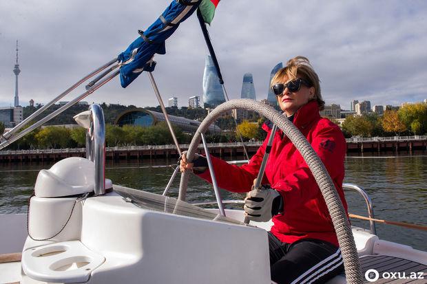 Yaxta kapitanı: Su soyuq idi, bədənim donurdu - FOTO