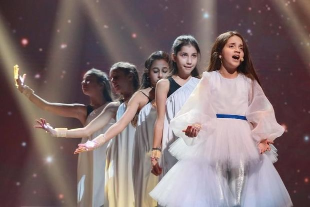 """Fidan Hüseynova """"Eurovision""""da ilk məşqini etdi - VİDEO"""
