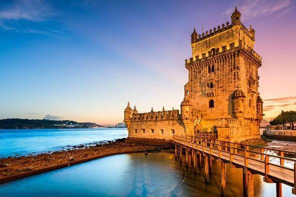Okeana sığınmış Lissabon