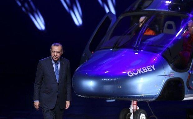 Yeni türk helikopteri təqdim olundu - VİDEO
