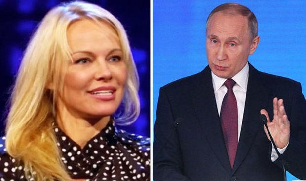 Pamela Anderson Putinə müraciət etdi