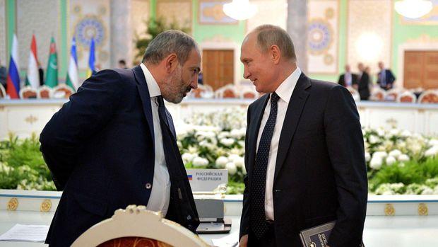 Paşinyan Putinlə görüşdən məyus qayıtdı
