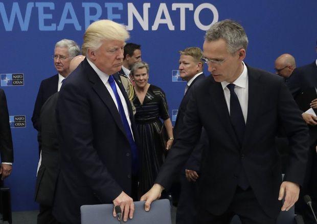 Tramp ABŞ-ın NATO-nu tərk etməsini arzulayır
