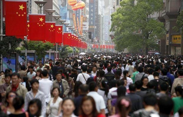 Çinin əhalisi durmadan artır