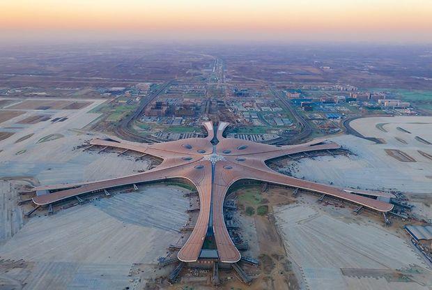Ulduz doğulur: dünyanın ən böyük aeroportu - FOTO