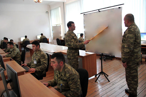 Azərbaycan ordusunda təlim başladı - FOTO