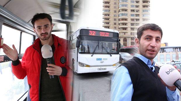 Avtobuslarda təhlükəsizlik qaydalarına niyə əməl olunmur? - VİDEO