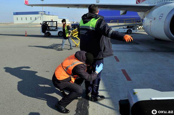 Beynəlxalq aeroportda baqajlar necə yoxlanılır?