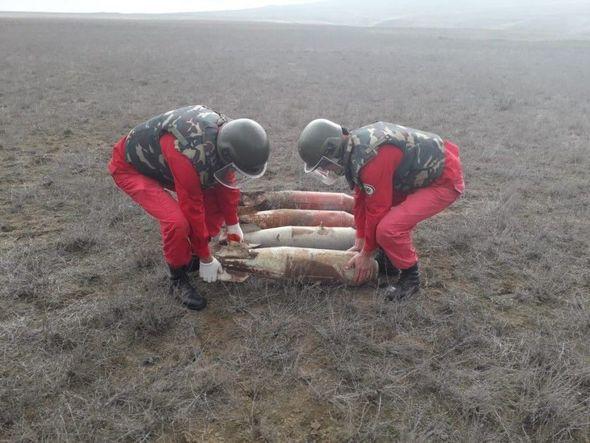 Ağstafada aviabombalar aşkarlandı - FOTO_3