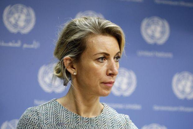 Zaxarova azərbaycanlı jurnalistin sözünü kəsdi - VİDEO
