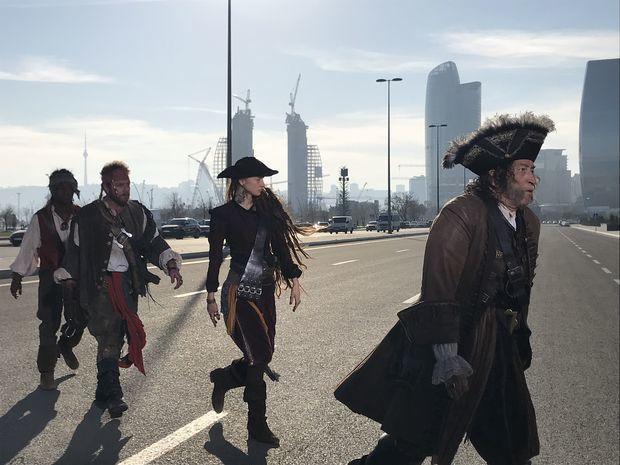 Bakıda peyda olan piratların sirri açıldı