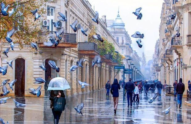 Bakıya yağış yağacaq