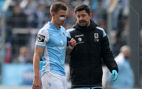 Millimizin futbolçusu alman müdafiəçinin burnunu sındırdı - FOTO_0