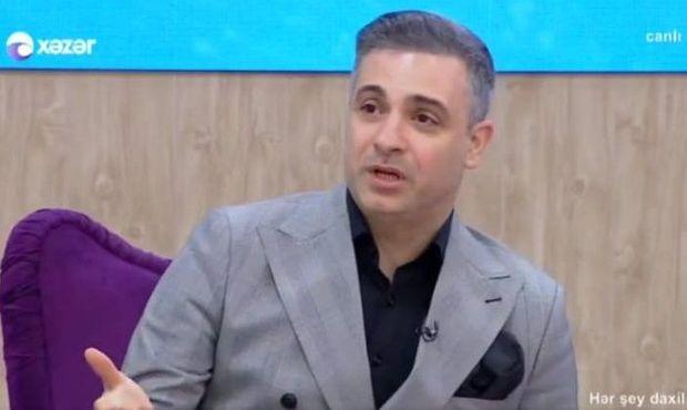 """Rüfət """"Xəzər"""" TV-də göründü - Efirə çıxmasına qadağa qoyulmuşdu"""