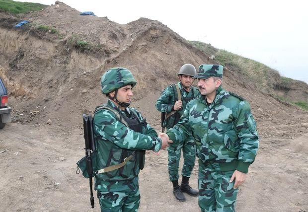 Elçin Quliyev Ermənistanla sərhədə getdi - FOTO