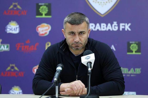 Qurban Qurbanov: Futbolçularım yaxşı oyun göstərdilər