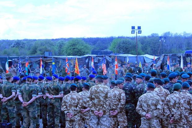 Azərbaycan hərbçiləri NATO təlimlərində - FOTO