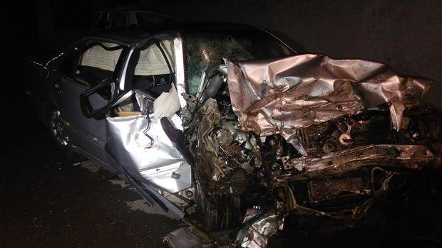 Dəhşətli yol qəzasında 1 nəfər öldü, 3 nəfər yaralandı - FOTO