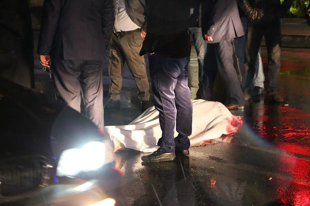 81 yaşlı kişini maşın vurub öldürdü - FOTO