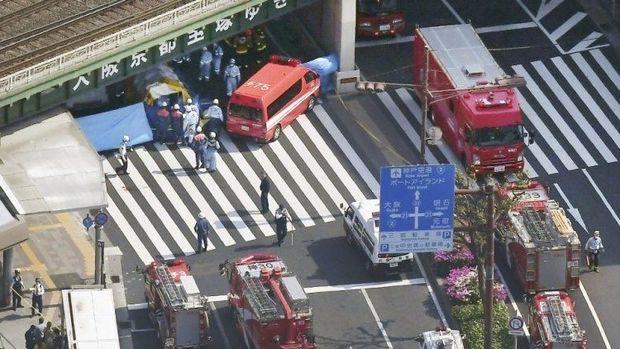 Yaponiyada avtobus insanlara çırpıldı, ölü və yaralılar var