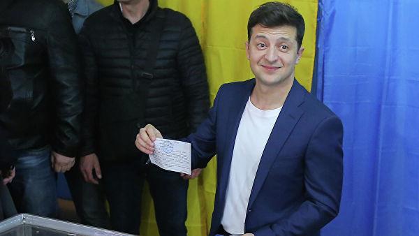 """""""Exit-poll"""": Ukraynanın prezident seçkilərində Vladimir Zelenski qalib gəlib - YENİLƏNİB"""