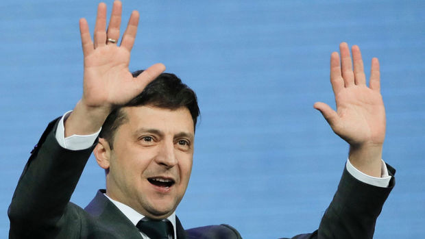 Azərbaycanda yaşayan ukraynalılar da Zelenskini seçdi