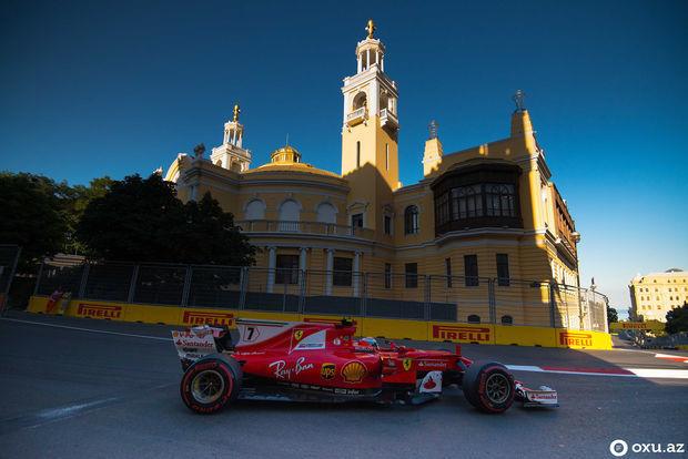 """Bakıda """"Formula-1"""" həyəcanı başlayır"""