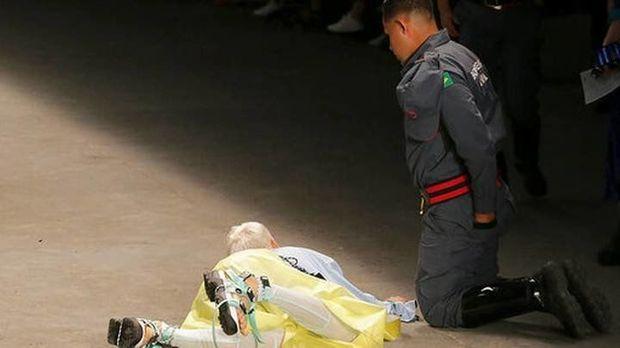 Braziliyada model podiumda öldü