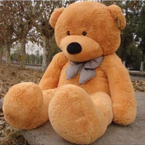 Meksikada 4 tonluq oyuncaq ayısı hazırlandı