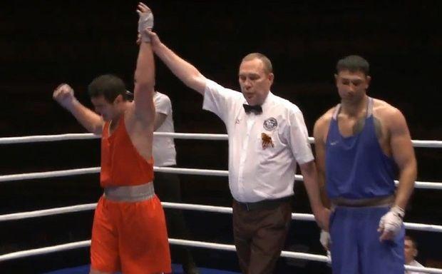 Azərbaycanlı boksçu Sarkisyanı məğlub etdi