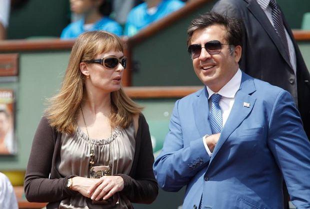 Saakaşvilinin arvadı hədələdi: Siz hələ məni tanımırsınız